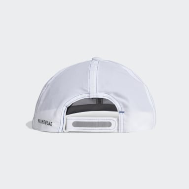 Casquette AEROREADY Primeblue Runner Low Blanc Hockey Sur Gazon