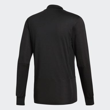 Heren Fitness En Training Zwart Condivo 18 Player Focus Training Longsleeve