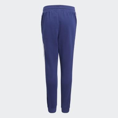 Spodnie 3-Stripes Niebieski