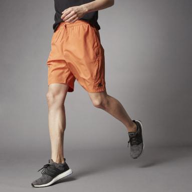 Short Terra Love O-Shape Orange Hommes Sportswear