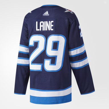 Men's Hockey Blue Jets Laine Home Authentic Pro Jersey