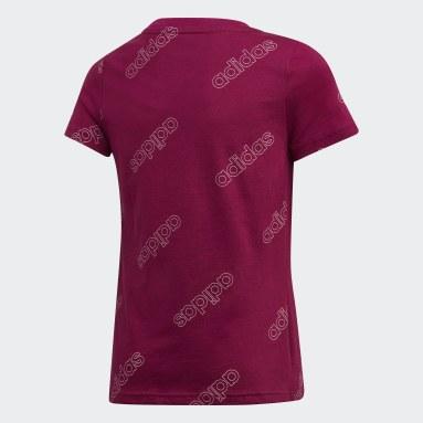 Girls Sportswear Burgundy Classics T-Shirt