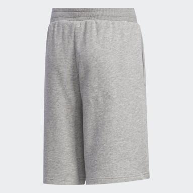 Shorts Brilliant Basics Cinza Meninos Estilo Esportivo