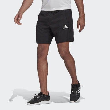 Men Training Black AEROREADY Designed 2 Move Woven Sport Shorts