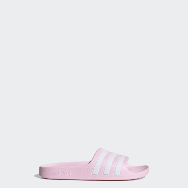 Kids Swimming Pink Adilette Aqua Slides