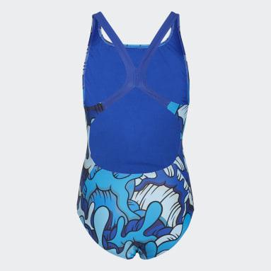 Maillot de bain Aaron Kai Primeblue Bleu Filles Natation