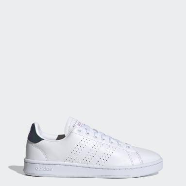 Frauen Tennis Advantage Schuh Weiß