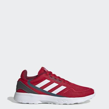 Herr Löpning Röd Nebzed Shoes