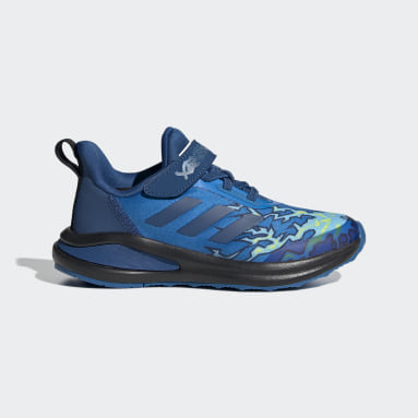 Chaussure adidas FortaRun x LEGO® NINJAGO® Jay Bleu Enfants Running