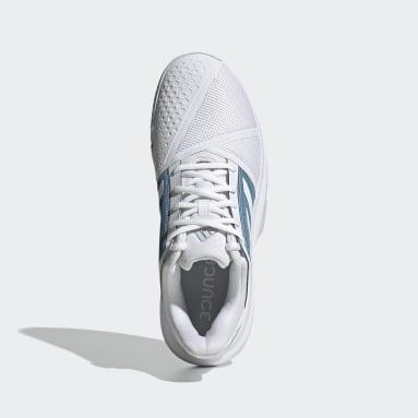 Men's Tennis White CourtJam Bounce Shoes