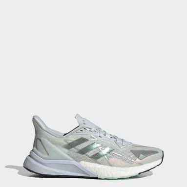Kvinder Løb Blå X9000L3 HEAT.RDY sko