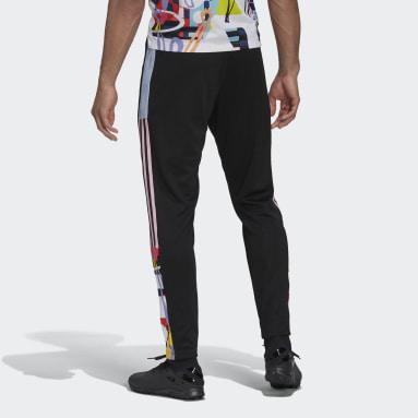 ผู้ชาย ฟุตบอล สีดำ กางเกงแทรค adidas Love Unites Tiro