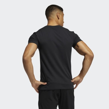 Men Gym & Training Black Primeblue Training Tee