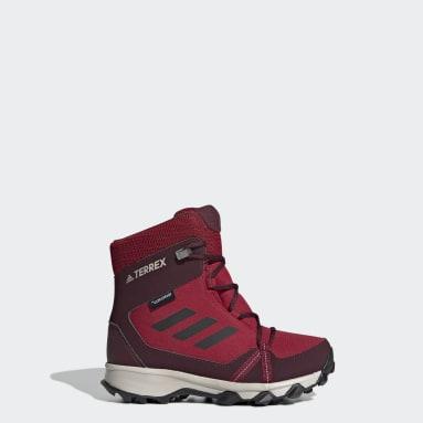 Kids 4-8 Years TERREX Burgundy TERREX Snow CP CW Shoes