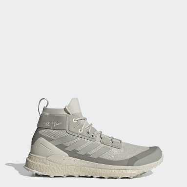 TERREX Beige Terrex Free Hiker Parley Hiking Shoes