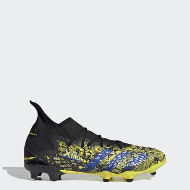 ผู้ชาย ฟุตบอล สีเหลือง รองเท้าฟุตบอล Marvel Predator Freak.3 Firm Ground