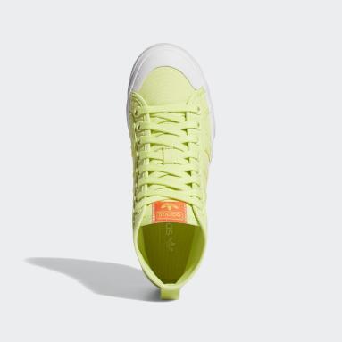 Ženy Originals žltá Tenisky Nizza Platform Mid