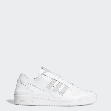 Men Originals White Forum 84 Low Minimalist Icons Shoes