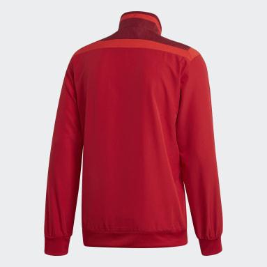 Men Gym & Training Red Tiro 19 Presentation Jacket