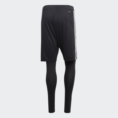 Short Tiro 19 Two-in-One Noir Hommes Fitness Et Training