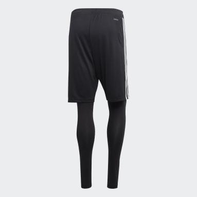 Mænd Fitness Og Træning Sort Tiro 19 Two-in-One shorts