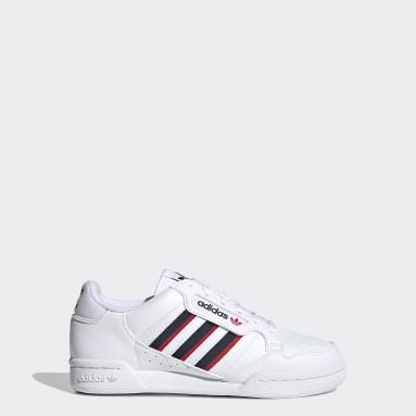 Kinder Originals Continental 80 Stripes Schuh Weiß