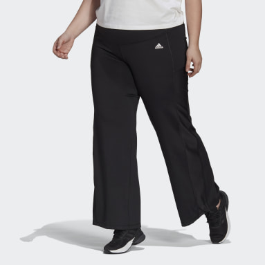 Women's Training Black Designed 2 Move Bootcut Pants (Plus Size)