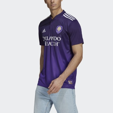 Men's Soccer Purple Orlando City 21/22 Home Jersey