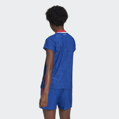 Women Handball Blue France Handball Replica Jersey