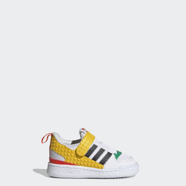 Infant & Toddler Originals White adidas Forum 360 x LEGO® Shoes