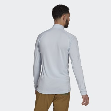 Men TERREX Blue Trace Rocker Long-Sleeve Top