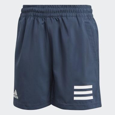 синий Шорты для тенниса Club 3-Stripes