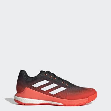 Men's Training Orange CrazyFlight Volleyball Shoes