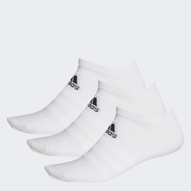 Training White Low-Cut Socks 3 Pairs