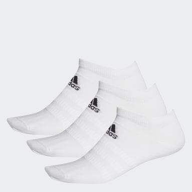 Low-Cut Sokker, 3 par Hvit