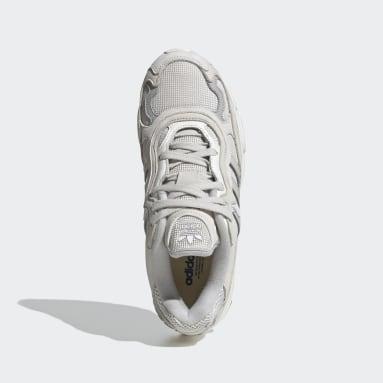 Women Originals White Temper Run Shoes