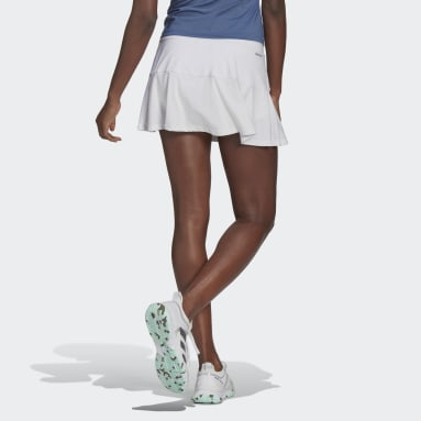 Women Tennis White Tennis Match Skirt