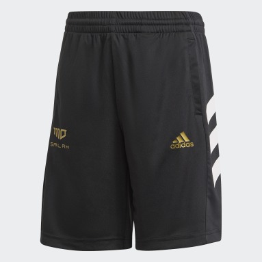 Short Salah Football-Inspired Noir Garçons Fitness Et Training