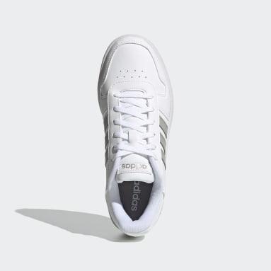Scarpe Hoops 2.0 Bianco Donna Basket