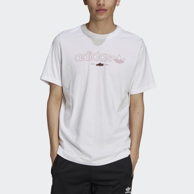 Men Originals White LDN Outline T-Shirt