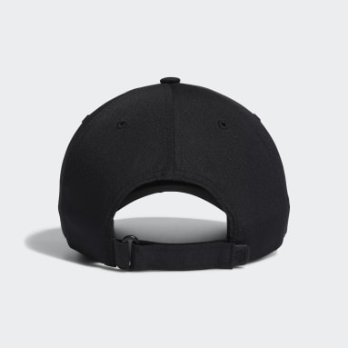 Men Golf Black Performance Hat