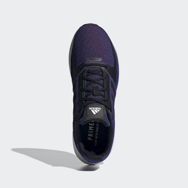 Tenis Runfalcon 2.0 Violeta Hombre Running