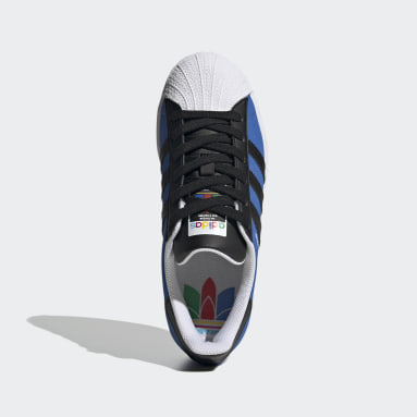 Tenis Superstar (UNISEX) Azul Niño Originals