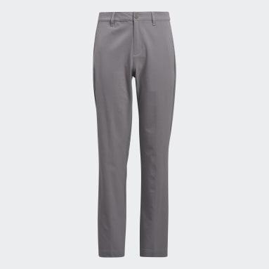 Boys Golf Grey Solid Pants