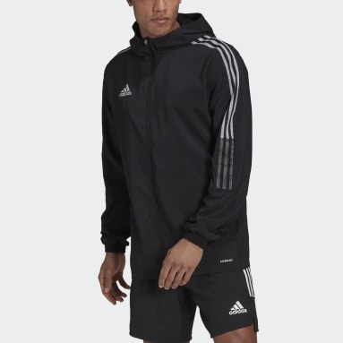 Men Cricket Black Tiro Reflective Windbreaker