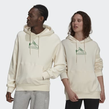 Men Originals White Stan Smith Hoodie (Gender Neutral)