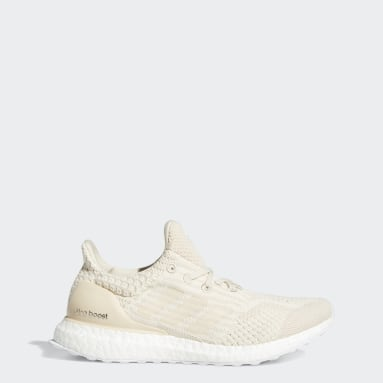 Women Running Beige Ultraboost 5.0 Uncaged DNA Shoes