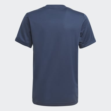 Boys Gym & Training Blue HEAT.RDY Sport Tee