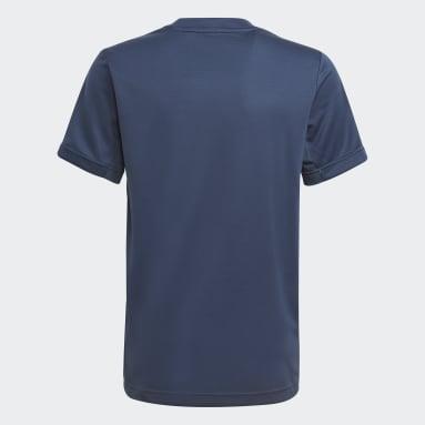 T-shirt HEAT.RDY Sport Bleu Garçons Fitness Et Training