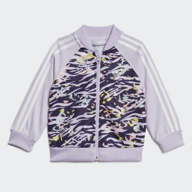 Conjunto chaqueta y pantalón SST Violeta Niña Originals